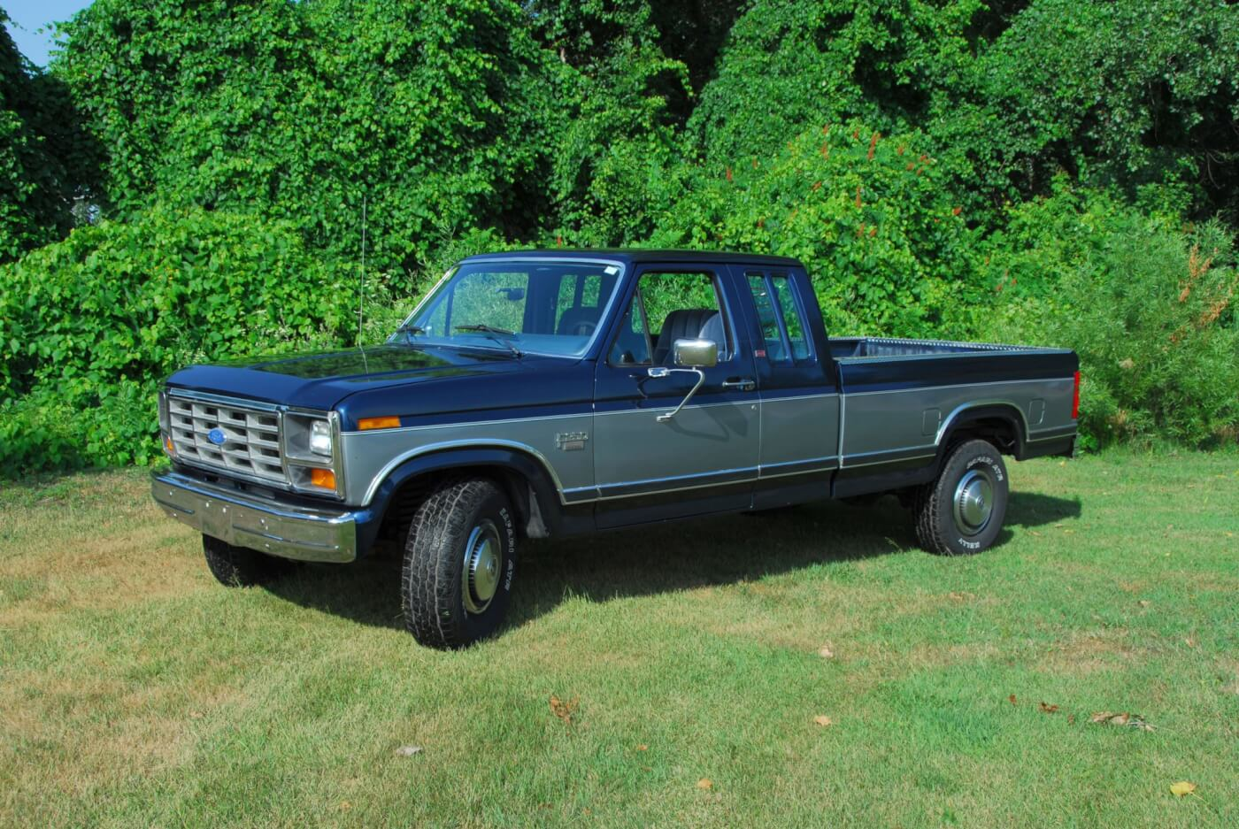 Fords 1st Diesel Pickup Engine 1983 Chevy Silverado Crew Cab Top Of The Line Was Xlt To Which Lariat Added Shown