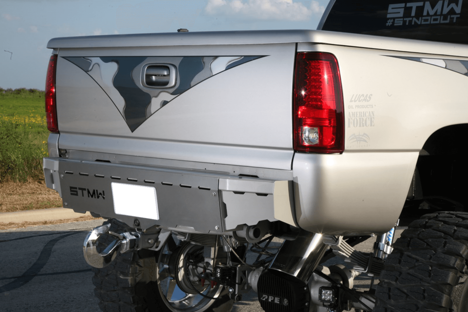 The detail on ShowTime Metal Works' bumpers shows why they have become so popular.