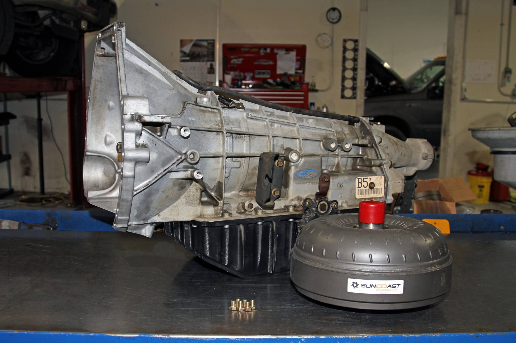 Project work truck 5 rebuilding transmission thanks to a sun coast xtreme rebuild kit billet torque converter and the guys at publicscrutiny Image collections